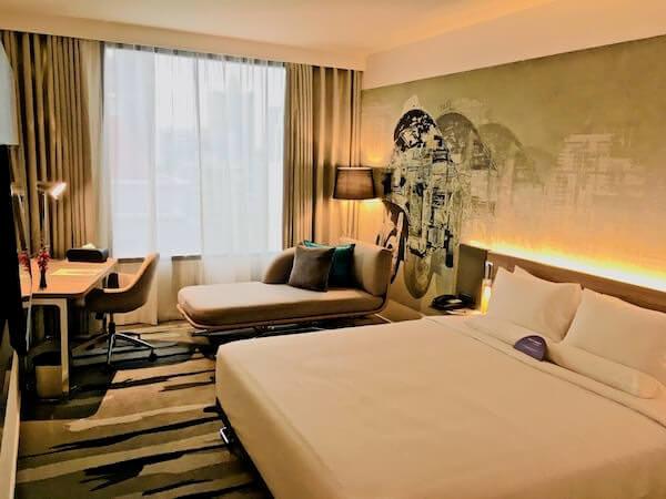 ノボテル バンコク スクンビット4 (Novotel Bangkok Sukhumvit 4)の客室2