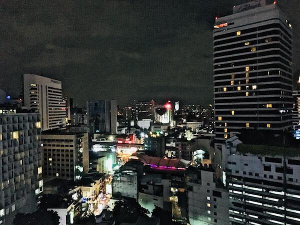 ノボテル バンコク スクンビット4 (Novotel Bangkok Sukhumvit 4)の客室からの景色