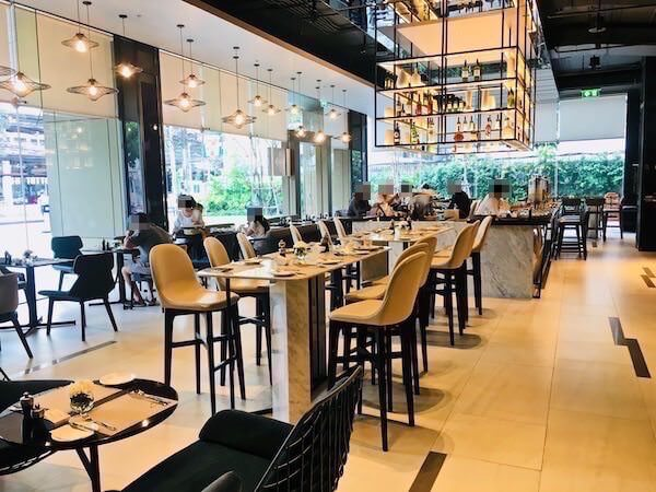 ノボテル バンコク スクンビット4 (Novotel Bangkok Sukhumvit 4)の朝食会場
