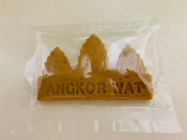 ニョニュムショップで売られていたカンボジアクッキー