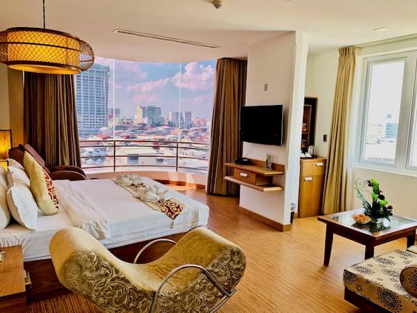 オルセー ワン ホテル&アパートメント(Orussey One Hotel & Apartment)の客室