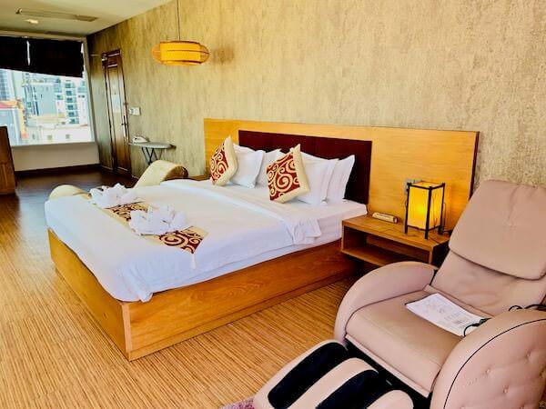オルセー ワン ホテル&アパートメント(Orussey One Hotel & Apartment)のマッサージチェア