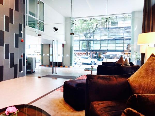 パーク プラザ バンコク ソイ18(Park Plaza Bangkok Soi18)のエントランス