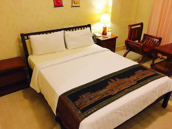 パークレーン ホテル(Parklane Hotel)のベッド