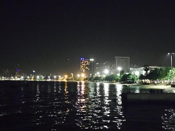 パタヤビアガーデンから見える景色