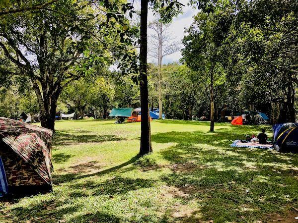 カオヤイのキャンプ場1