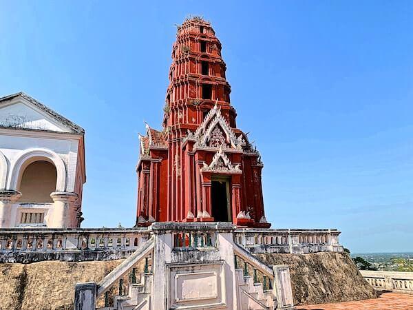 プラナコーンキリ国立歴史公園の仏塔2