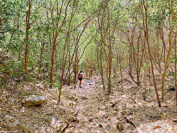 プラヤーナコーン洞窟へ続く山道