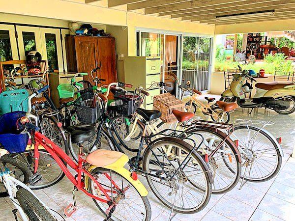 プタール レジデンス(Phuttal Residence)のレンタル自転車