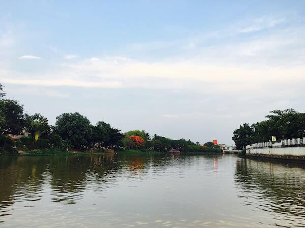 夕方のピン川