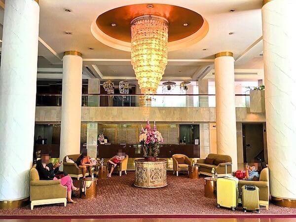 ポーンピン タワー ホテル(Pornping Tower Hotel)のロビー