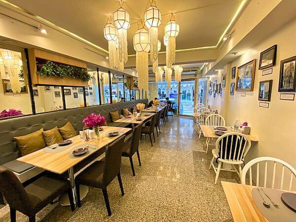 Porwa Restaurant(ポーワーレストラン)の店内