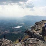 プレアビヒアの断崖から見える景色