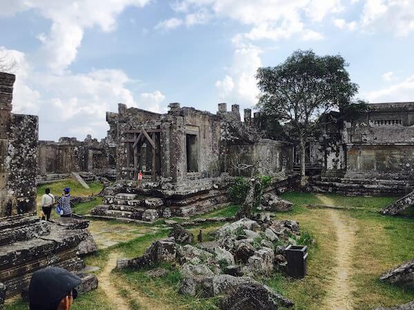 プレアビヒアの第五塔門