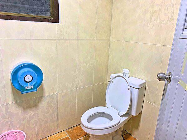 P U イン リゾート(P.U. Inn Resort)のトイレ