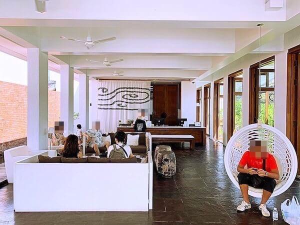 プタラクサ ホアヒン リゾート(Putahracsa Hua Hin Resort)のレセプション
