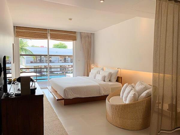 プタラクサ ホアヒン リゾート(Putahracsa Hua Hin Resort)の客室1