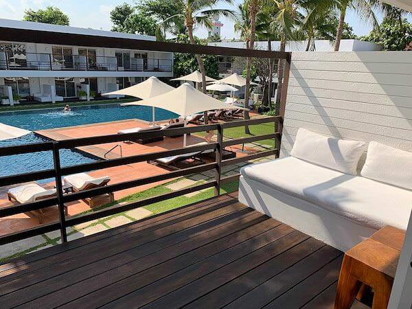 プタラクサ ホアヒン リゾート(Putahracsa Hua Hin Resort)の客室バルコニー