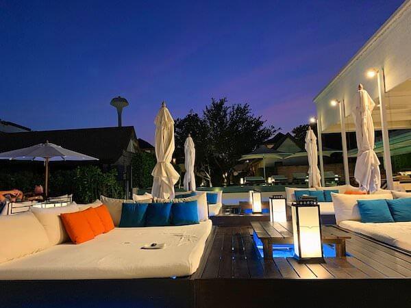 プタラクサ ホアヒン リゾート(Putahracsa Hua Hin Resort)のビーチ沿いレストラン2