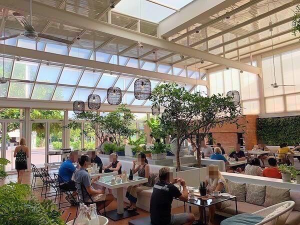 プタラクサ ホアヒン リゾート(Putahracsa Hua Hin Resort)の朝食会場