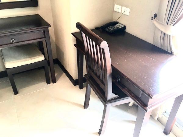 R-コン レジデンス(R-Con Residence)の作業机