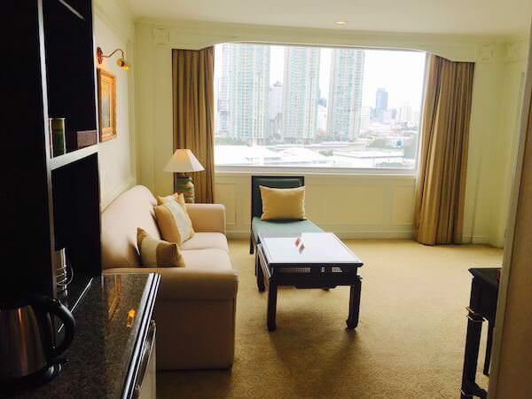 ラマダ プラザ バンコク メナム リバーサイド (Ramada Plaza Bangkok Menam Riverside)の客室1