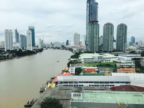 ラマダ プラザ バンコク メナム リバーサイド (Ramada Plaza Bangkok Menam Riverside)の客室から見える景色