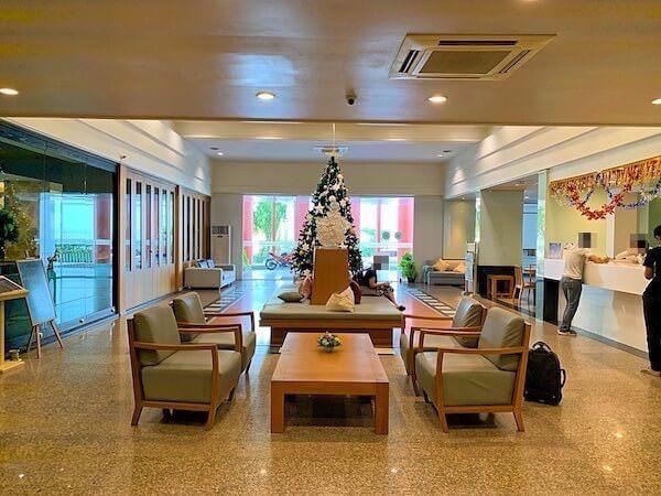 ラヨーン シティ ホテル(Rayong City Hotel)のエントランスロビー