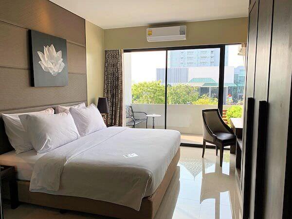 ラヨーン シティ ホテル(Rayong City Hotel)の客室ベッドルーム