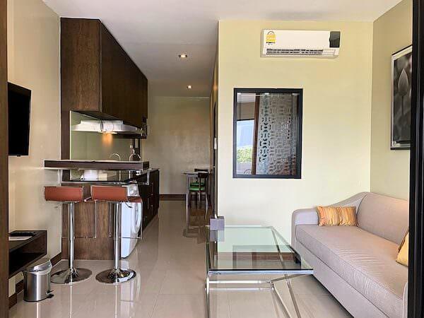 ラヨーン シティ ホテル(Rayong City Hotel)のリビング