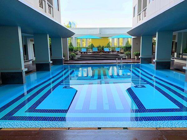 ラヨーン シティ ホテル(Rayong City Hotel)のプール
