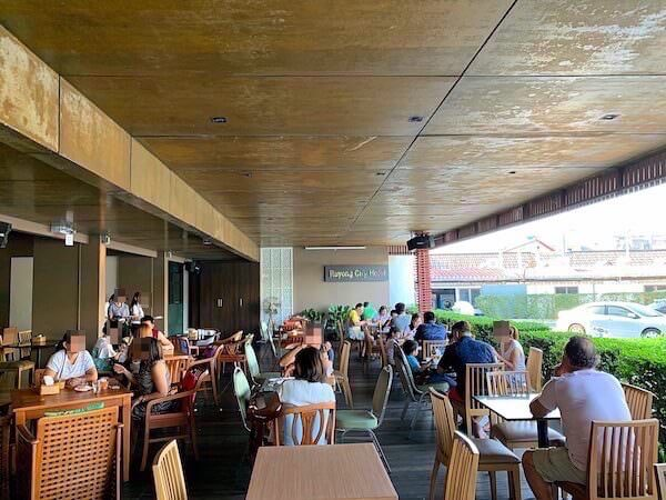 ラヨーン シティ ホテル(Rayong City Hotel)の朝食会場