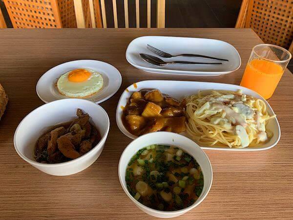 ラヨーン シティ ホテル(Rayong City Hotel)の朝食