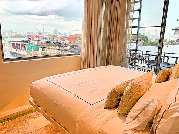 リヴァ アルン バンコク (Riva Arun Bangkok)のベッドルーム