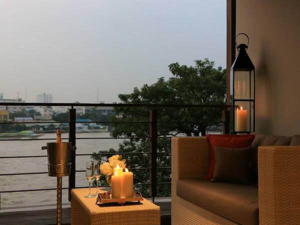 リーバ スーリヤ バンコク ホテル (Riva Surya Bangkok Hotel)のバルコニー3