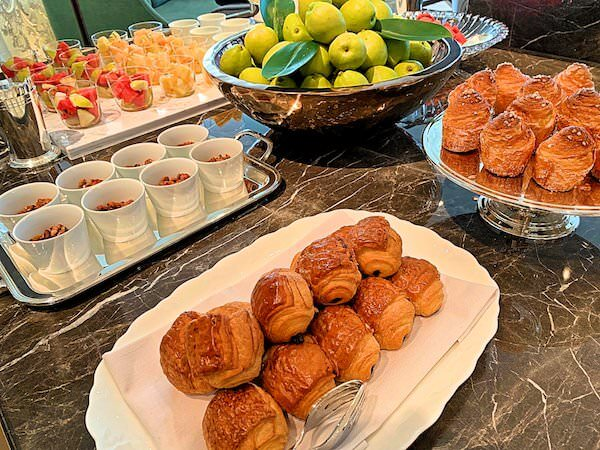 ローズウッド バンコク(Rosewood Bangkok)の朝食ビュッフェ3