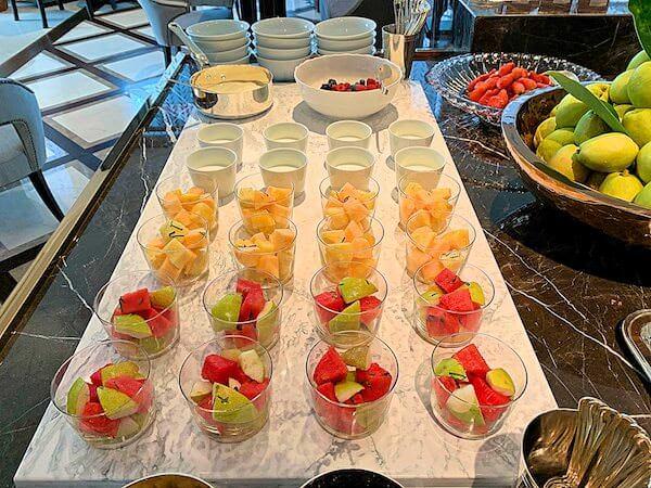 ローズウッド バンコク(Rosewood Bangkok)の朝食ビュッフェ4