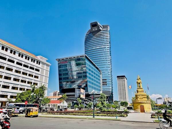 ローズウッド プノンペン(Rosewood Phnom Penh)の外観
