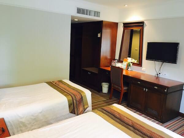 ロイヤル ラッタナコシン ホテル(Royal Rattanakosin Hotel)の客室2