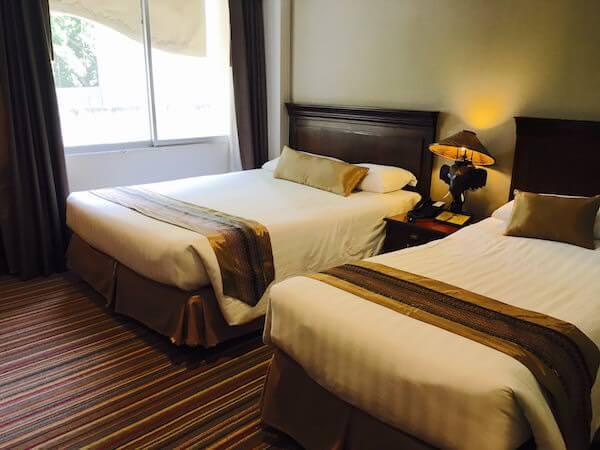 ロイヤル ラッタナコシン ホテル(Royal Rattanakosin Hotel)のベッド