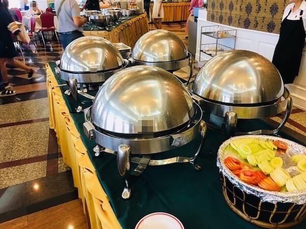 ロイヤル ラッタナコシン ホテル(Royal Rattanakosin Hotel)の朝食