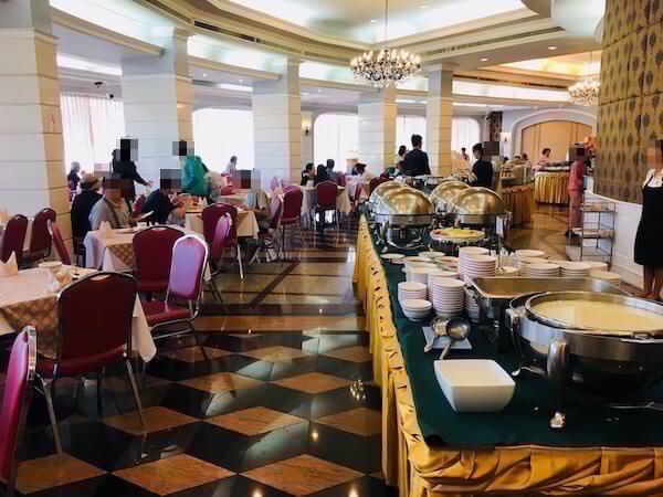ロイヤル ラッタナコシン ホテル(Royal Rattanakosin Hotel)の朝食会場