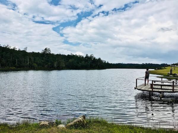 サイソン貯水池の回遊路