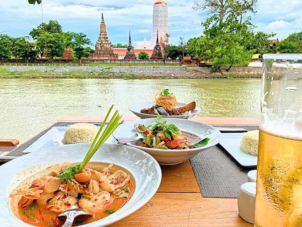 サラ アユタヤ(sala ayutthaya)のリバーサイドレストランで食べた料理2