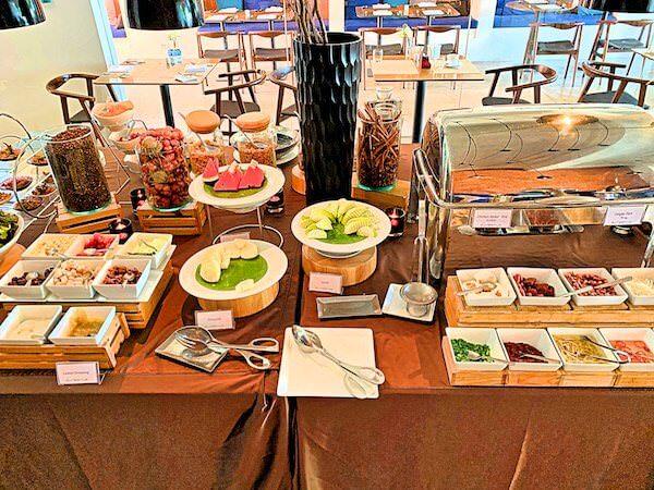 サラ アユタヤ(sala ayutthaya)の朝食ビュッフェ2