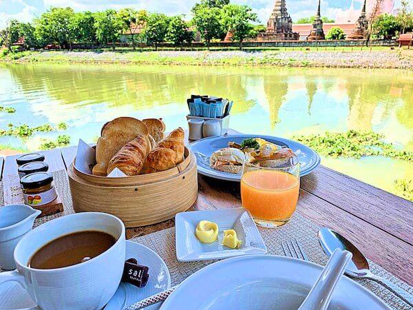 サラ アユタヤ(sala ayutthaya)の朝食
