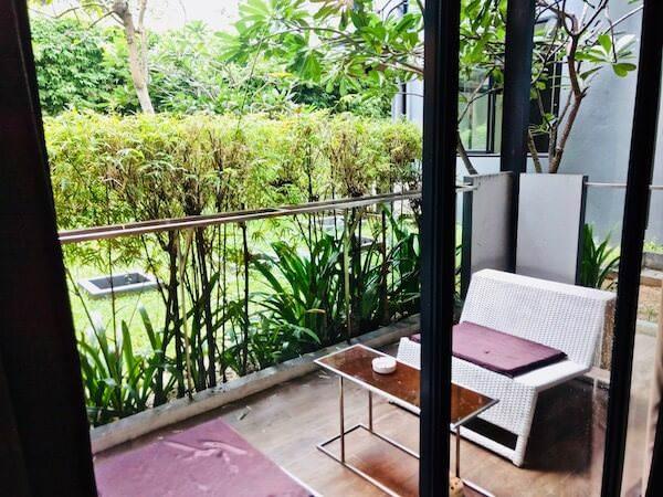 サメッド グランドビュー リゾート(Samed Grandview Resort)の客室バルコニー