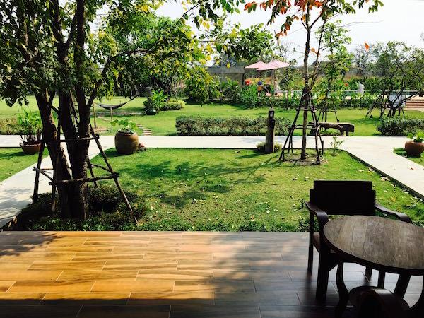 サワディースコータイ リゾート (SawasdeeSukhothai Resort)のテラス