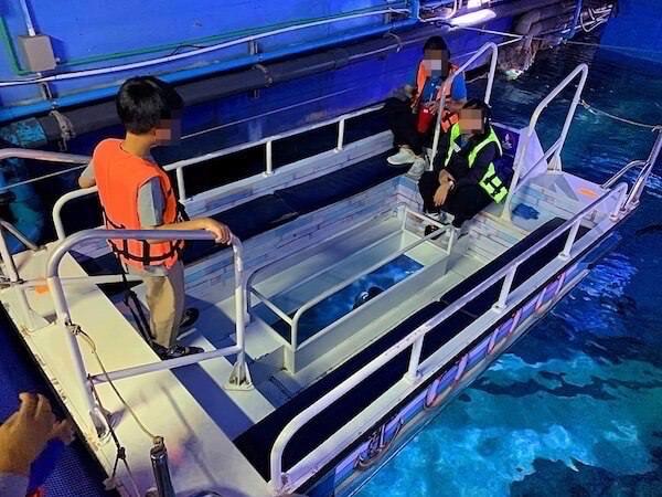 シーライフオーシャンワールドバンコク(Sea Life Ocean World Bangkok)のグラスボトムボート