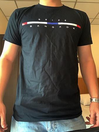 ターミナル21のSEIZE mode of tokyoで購入したTシャツ9